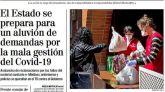 Las portadas de los periódicos de este lunes 4 de mayo
