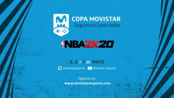 Movistar impulsa el entretenimiento social digital con la organización y emisión de la Copa Seguimos Conectados NBA2K20