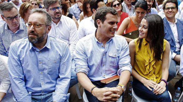 Girauta y Mejías se dan de baja de Ciudadanos tras el pacto de Arrimadas con Sánchez
