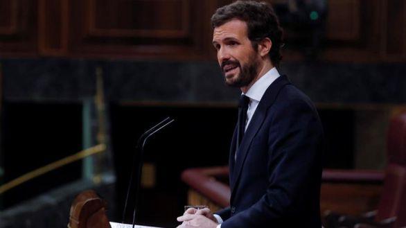 Casado, tras el debate: 'Sánchez cada vez está más solo en el Parlamento y en la calle'