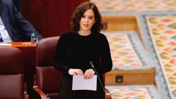 La presidenta de la CAM, Isabel Díaz Ayuso.