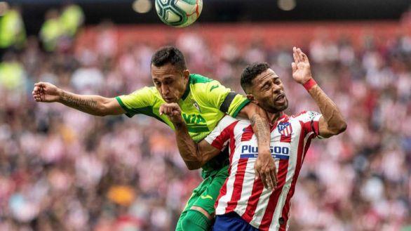 Renan Lodi, lateral titular del Atlético, contagiado por coronavirus