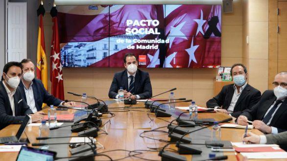 """Aguado: Madrid necesita """"dar el salto a la fase 1, el confinamiento aumenta el riesgo de pobreza"""""""