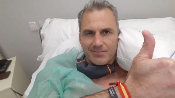 Javier Ortega Smith recibe el alta tras sufrir varios trombos por el coronavirus