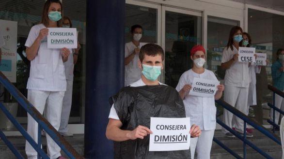 Dimite la consejera de Aragón que animó a los los sanitarios a hacerse sus propios EPI