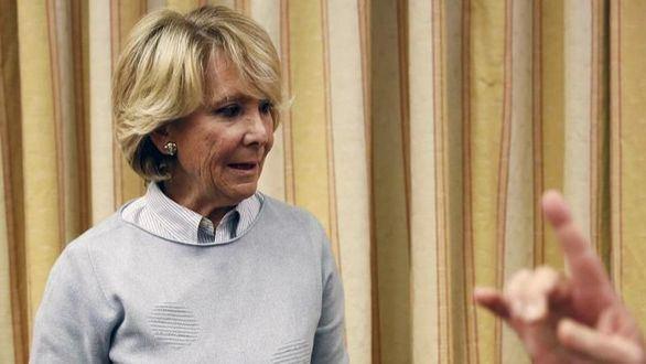 'Fantoche', 'cobarde': Aguirre responde a Iglesias tras llamarle 'corrupta'