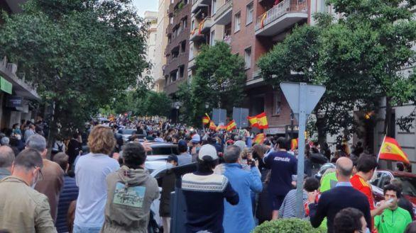 Nueva cacerolada en Madrid al grito de