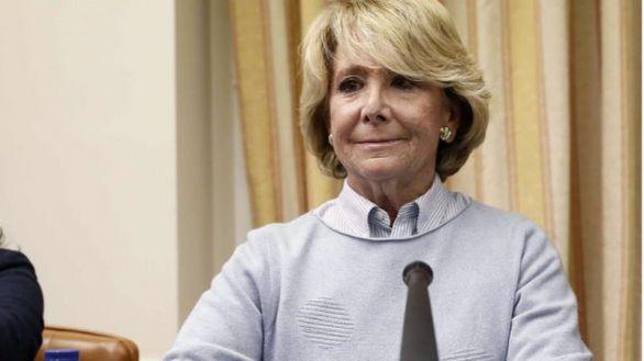 Fotografía de archivo de la expresidenta de la Comunidad de Madrid Esperanza Aguirre.