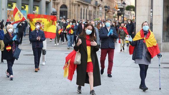 Las protestas se multiplican en España tras la nueva prórroga del estado de alarma
