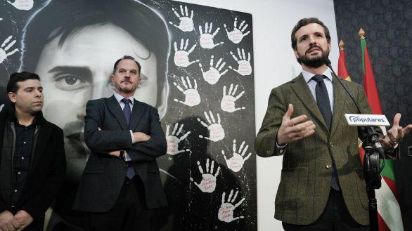 PP: 'Sánchez ha negociado la desescalada vasca en la apología del terrorismo'