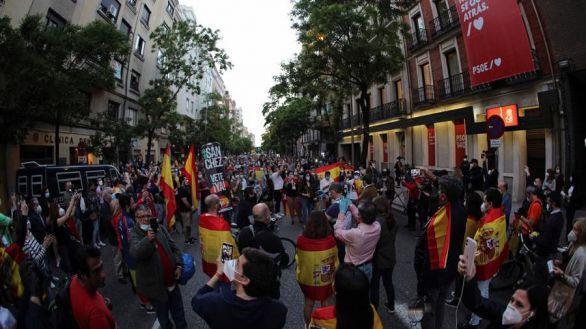 Marlaska despliega a la Policía para aplacar las manifestaciones contra el Gobierno