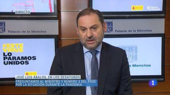 Ábalos acusa a la Comunidad de Madrid de politizar la desescalada del Covid-19