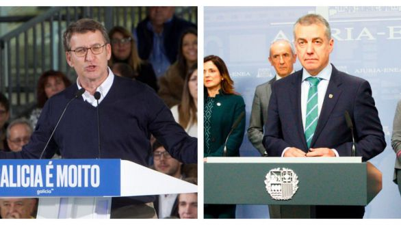 Urkullu y Feijóo convocan las elecciones vascas y gallegas el 12 de julio