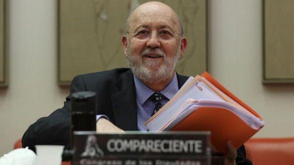José Félix Tezanos, este martes.
