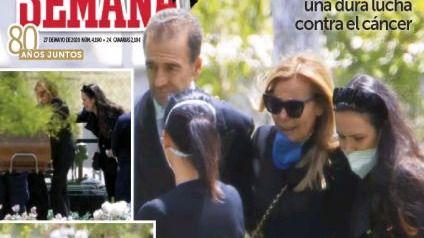 Las imágenes de la despedida de Aless Lequio copan las portadas de todas las revistas