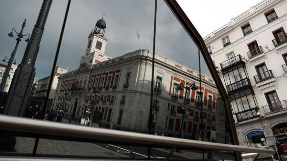 La Puerta del Sol, de Madrid, este jueves.