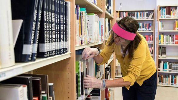La desescalada en las bibliotecas: podrás pedir en préstamo pero no estudiar en sala