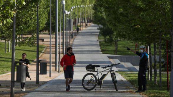Ya se puede pasear por el Retiro, Madrid Río y la Casa de Campo