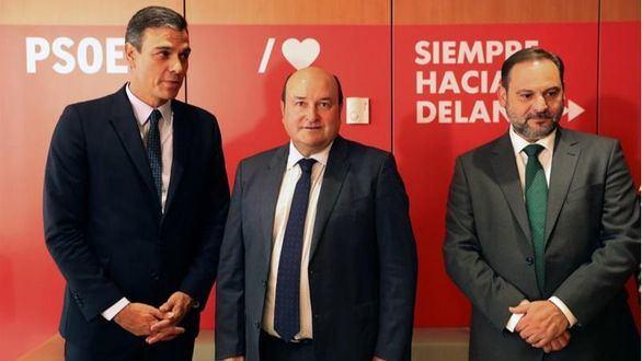 El PNV amenaza a Sánchez con retirarle su apoyo si no es