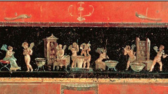 Hallada en Pompeya una de las perfumerías mejor conservadas de época romana