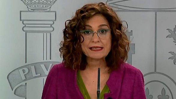 Montero dice que se pactó con Bildu porque el PP no dio apoyo