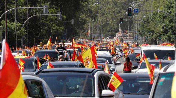 Las caravanas de Vox colapsan Madrid, Barcelona y las principales ciudades españolas