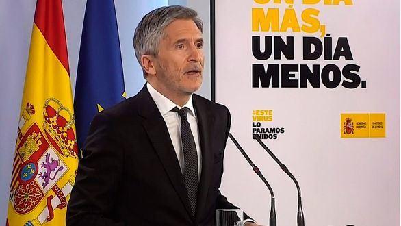 Marlaska anuncia la equiparación salarial para tapar el enfado de la Guardia Civil