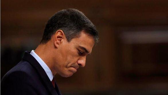El candidato socialista a la Presidencia del Gobierno, Pedro Sánchez.