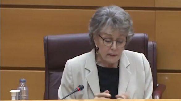 El lapsus de Rosa María Mateo en el Senado: