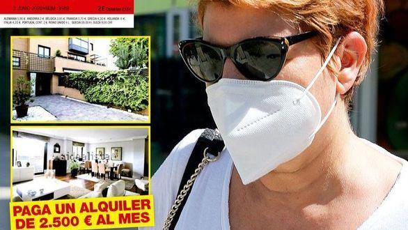 Terelu Campos se muda a un piso alquilado por 2.500 euros mensuales