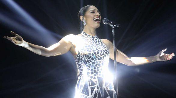 Nía, en la gala 11 de 'OT 2020', interpreta la canción 'Halo' de Beyoncé.