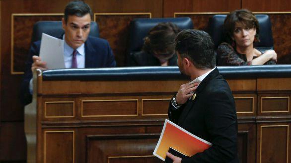 ERC salva a Sánchez y pacta abstenerse ante la sexta prórroga del estado de alarma