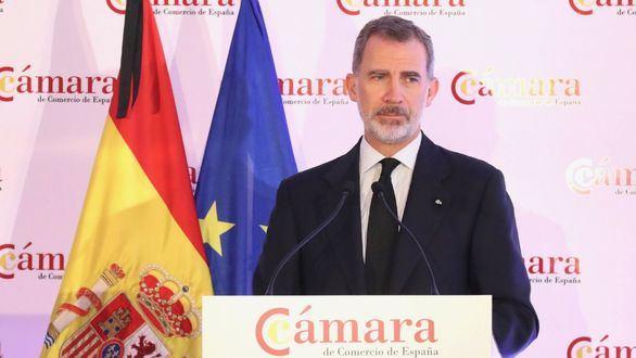 """El Rey da su apoyo a las empresas españolas: """"Estamos profundamente agradecidos"""""""