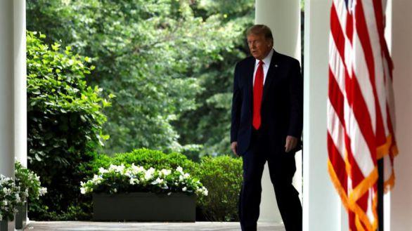 Trump exige más agresividad para acabar con el 'movimiento' antirracista