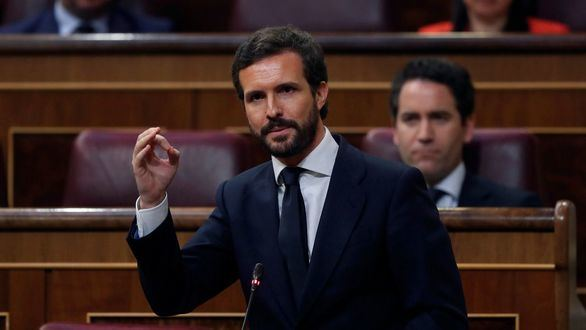 """Casado acusa a Sánchez de """"borrar"""" fallecidos para decir que no hay muertos esta semana"""