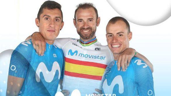 Tour de Francia. Alejandro Valverde y Enric Mas serán las bazas del Movistar