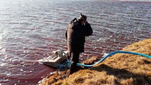 Rusia se moviliza para enfrentar el desastre ecológico generado en el Ártico