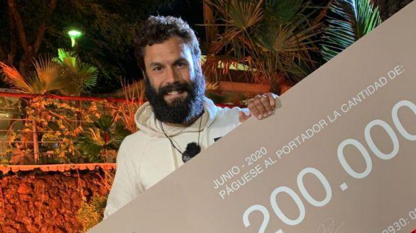 El guardia civil Jorge Pérez gana la final de Supervivientes con doble récord