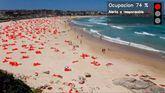 Telefónica diseña el sistema más avanzado del mercado para controlar el aforo en las playas.