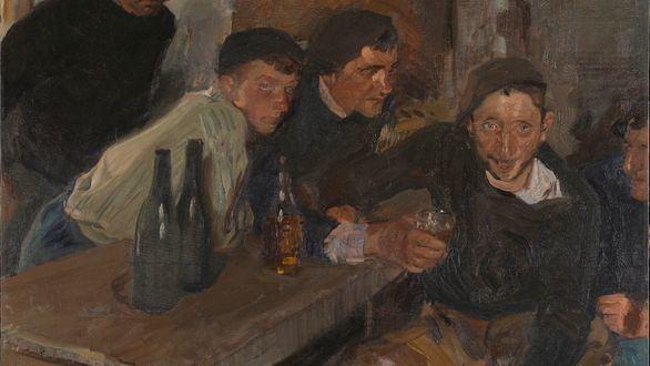 La National Gallery compra su primer 'sorolla', El borracho, Zarauz