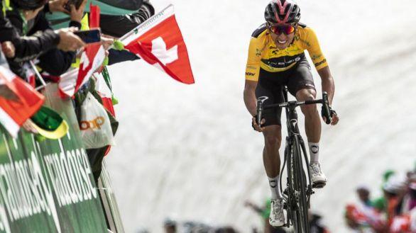 Tour de Francia. Bernal, principal favorito, asombra con un entreno colosal
