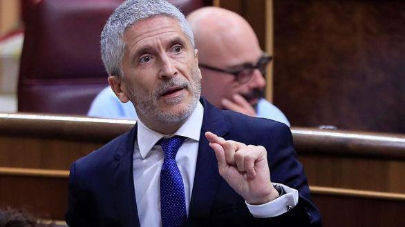 Marlaska entra al debate sobre la militarización de la Guardia Civil que abrió Pablo Iglesias