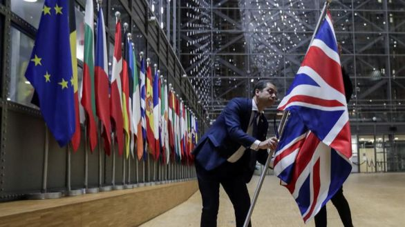 La economía británica se hundió un 20,4% en abril