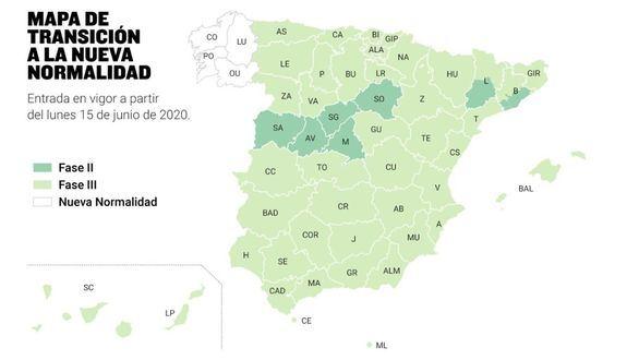 Galicia saldrá del estado de alarma el próximo lunes