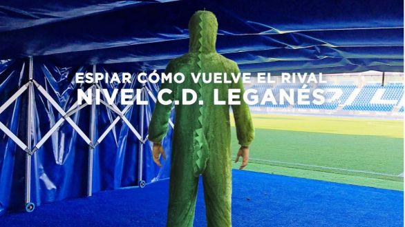 El Leganés se viste de cocodrilo para recibir al Valladolid