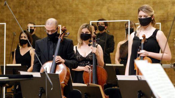 Primer concierto sinfónico con público de la