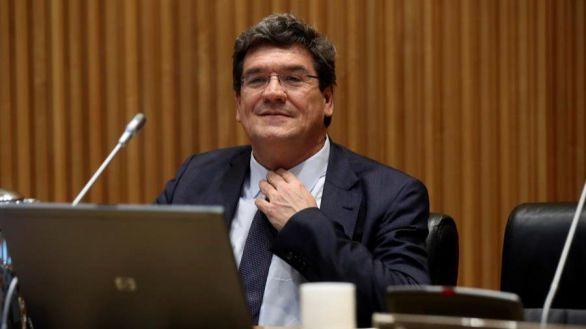 José Luis Escrivá, este miércoles en el Congreso.