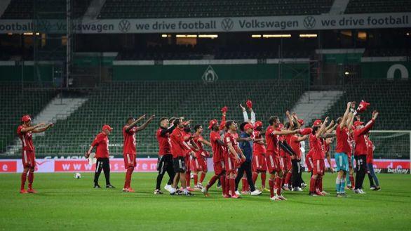 Bundesliga. El Bayern se proclama campeón por octava vez seguida