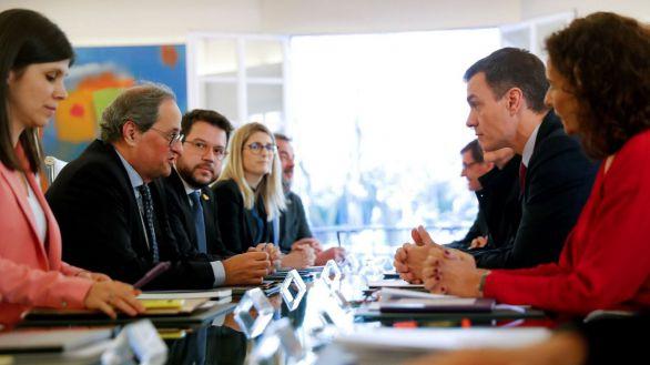 PP, Vox y Cs piden la ruptura de la mesa de diálogo con Cataluña