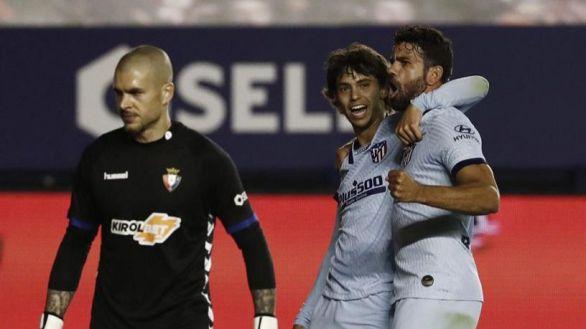 Joao Félix enseña el camino de la Champions al Atlético en Pamplona | 0-5